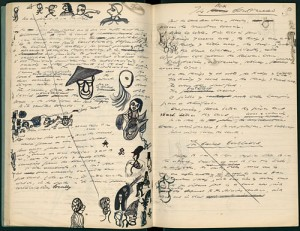 Samuel Beckett's Notebook